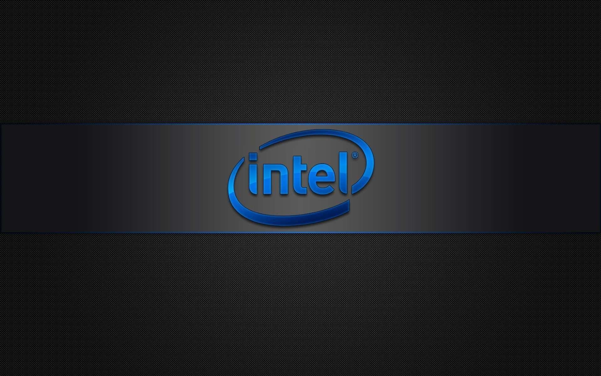 Intel Logo Hd Widescreen Wallpaper Plano De Fundo Pc Planos De Fundo