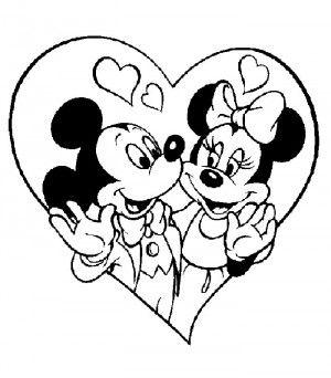 best imagenes de miki y mini de amor para pintar image collection