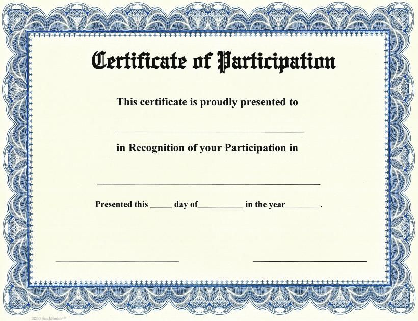 Certificate SIDS CERT Pinterest Certificate - certificate of participation template word