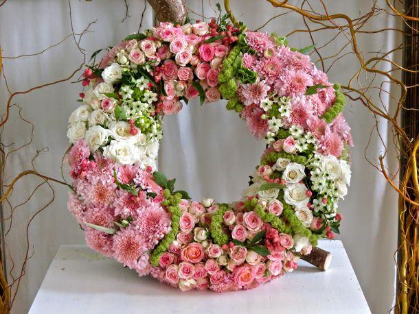 Floral Wreath  Floral Art  Blumenkranz Beerdigung