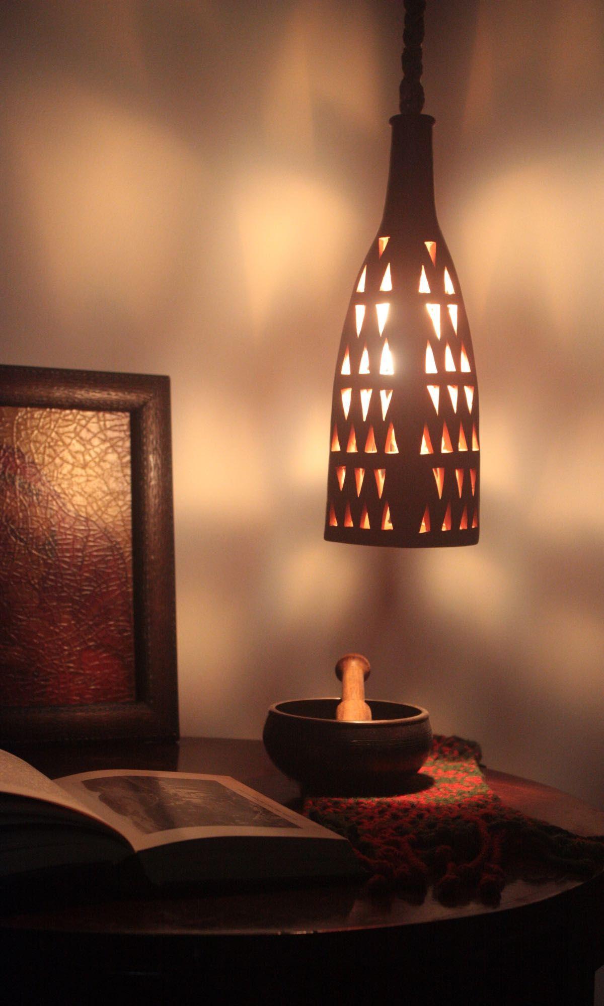 Tonlampe / clay lamp | Aktis | Christmasworld 2016 | TOP FAIR Blog