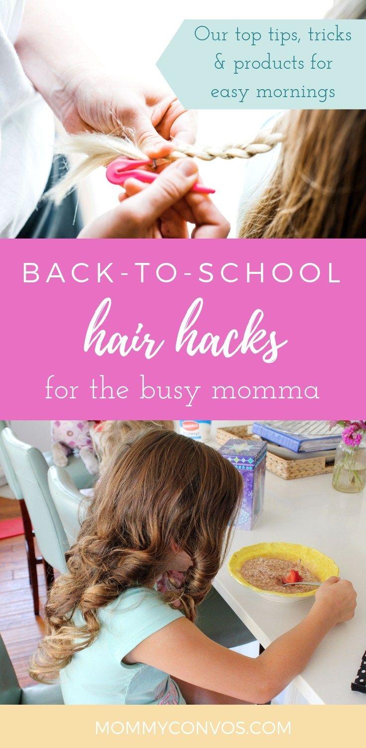 Favorite Hair Hacks Every Kid Needs in Their Life #kidshairaccessories