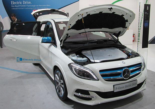 Mercedes B Class Electric Drive Built For Americans Mercedes B Class Mercedes Mercedes Benz