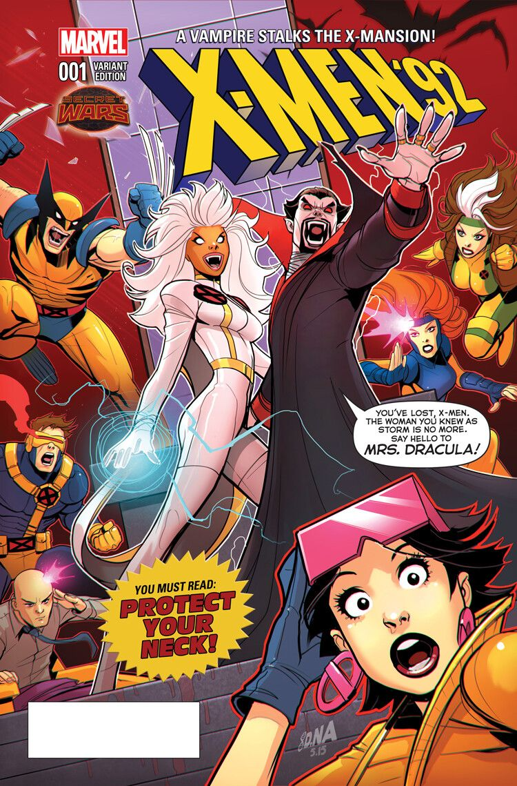 Storm Bride Of Dracula By David Nakayama X Men Marvel Comic Character Comics