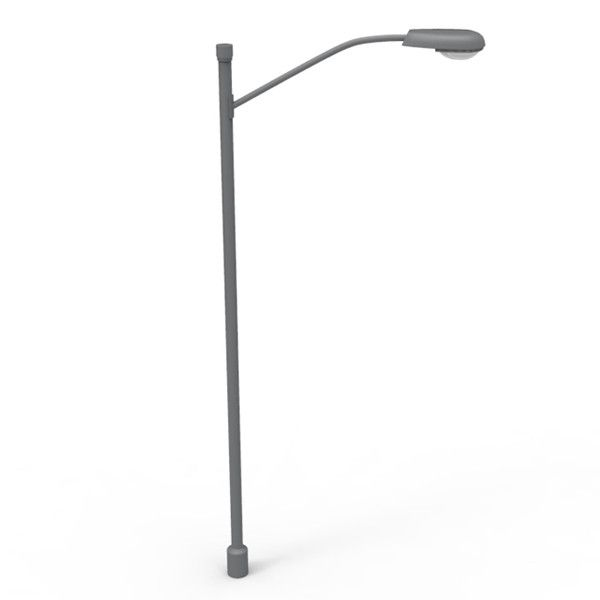 3d Model Streetlight Light Street In 2020 Street Light Post Lights Street Lamp