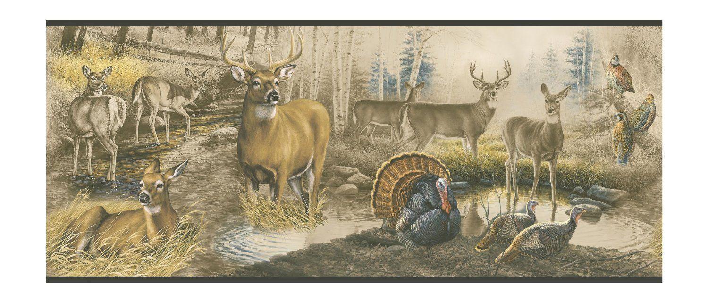 Robot Check Hunting Wallpaper Rustic Wallpaper Deer Wallpaper