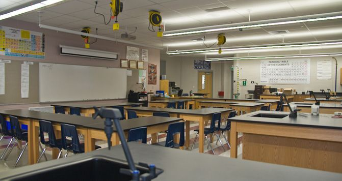 Classroom Hanging Ideas ~ Science classroom layout stephen f austin high school