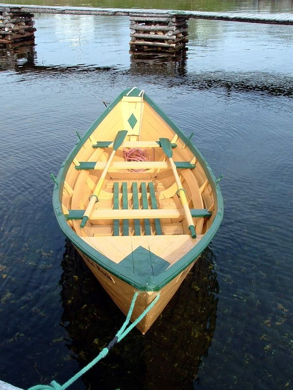Newfoundland Banking Dory in 2019 | Wooden boats, Wooden ...