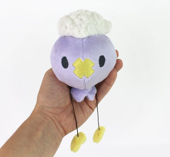 PDF sewing pattern - Pokemon Drifloon plush stuffed animal - easy ...