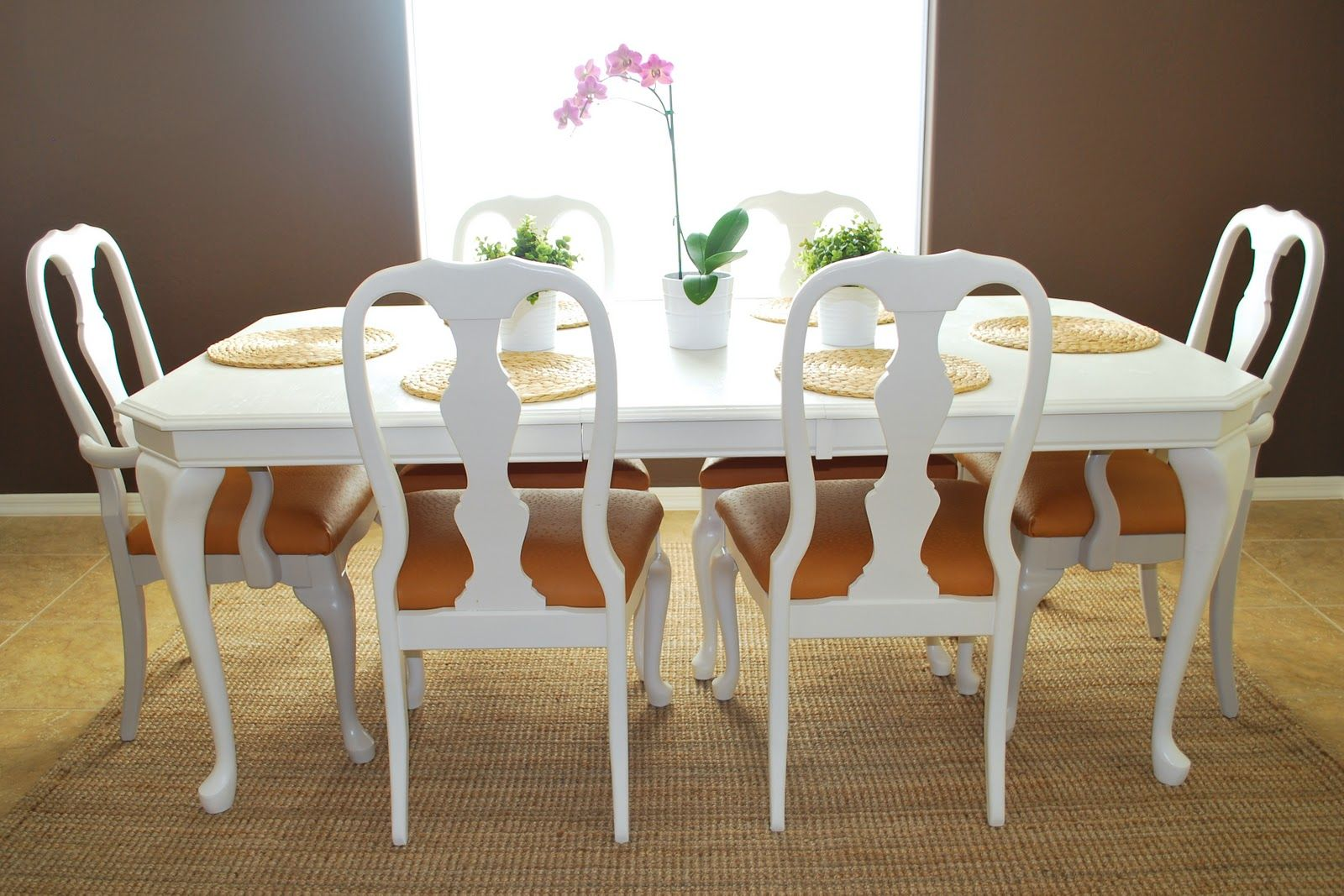 Wonderful Refinished Dining Room Table And Chair Re Upholstery Tutorial (3)