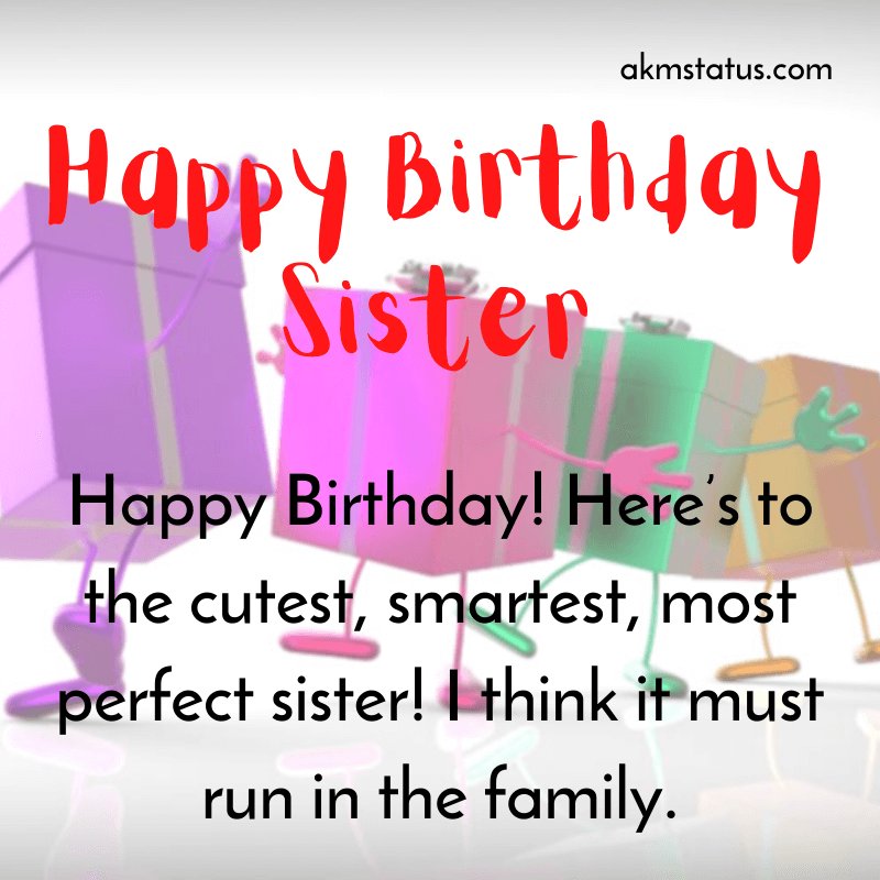 Happy Birthday To Sister in 2020 Birthday wishes for