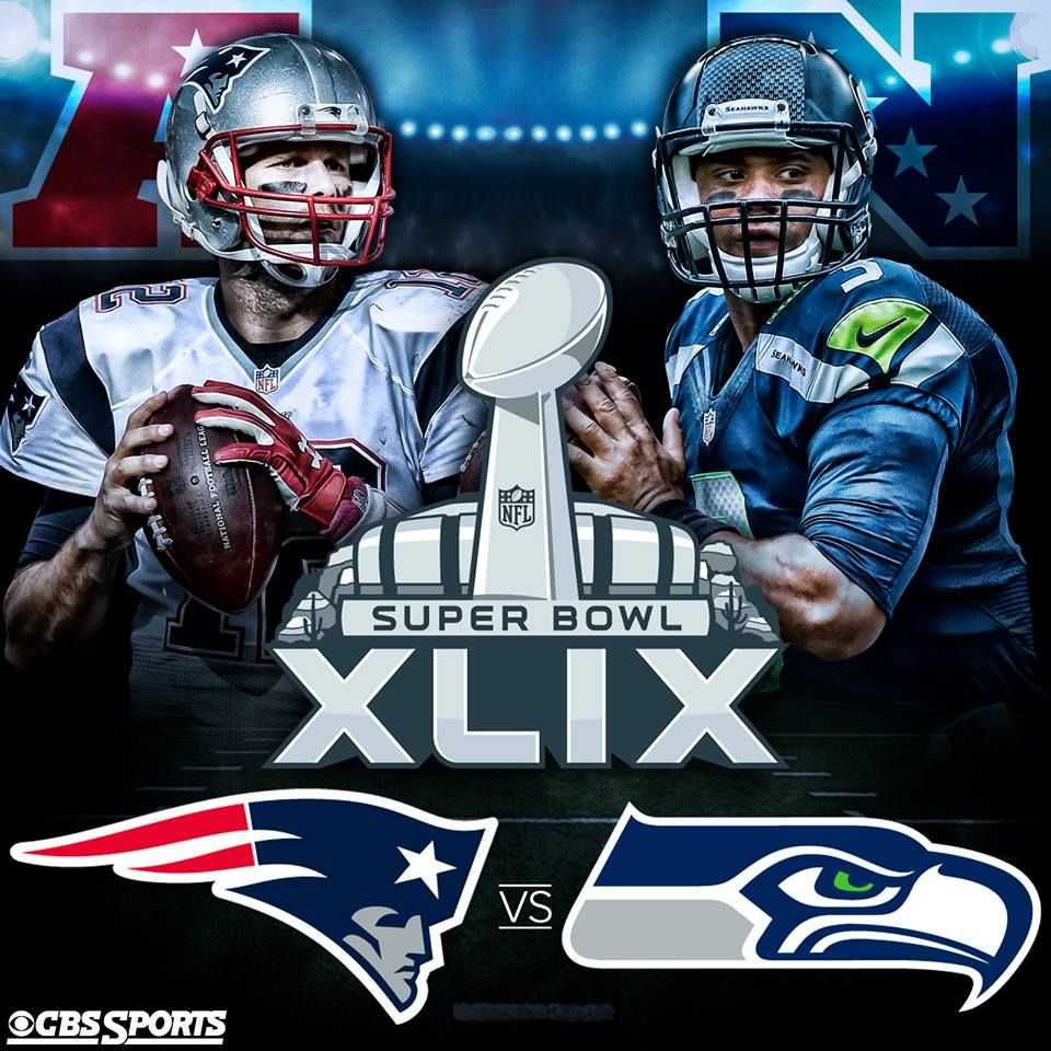 The Seattle Seahawks Own The Nfc The New England Patriots Own The Afc Time To Find Out Who Owns The Lea With Images Patriots Superbowl Nfl New England Patriots Seahawks