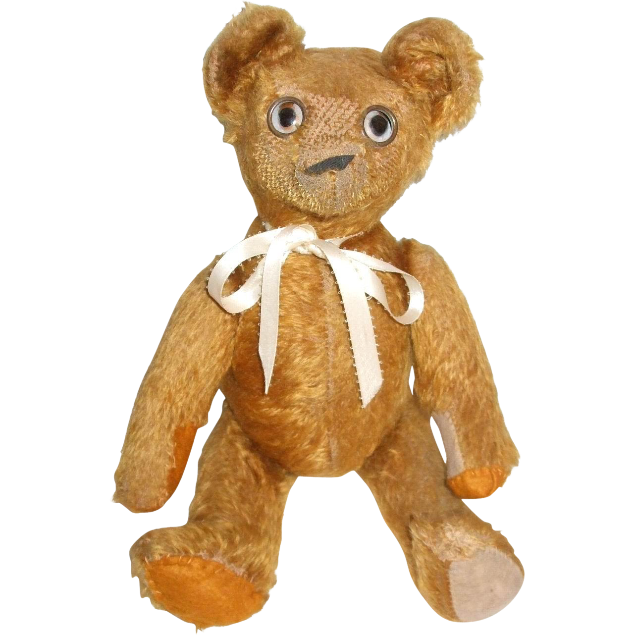 Unique Open Close Tin Eyes Well Loved Old Mohair Teddy Bear Doll Mohair Teddy Bear Teddy Bear Doll Teddy Bear