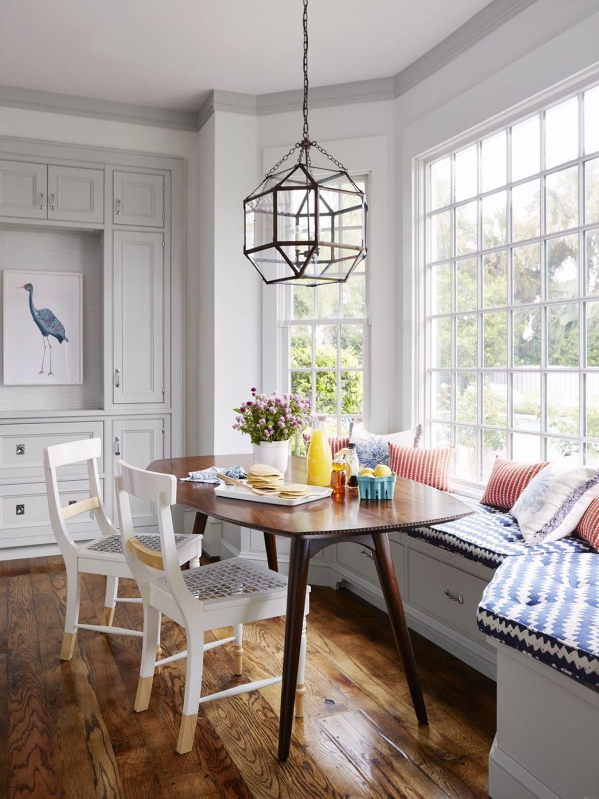 22 Stylish Kitchen Nook Lighting Design Ideas Window Seat Kitchen Banquette Seating In Kitchen Bench Seating Kitchen Kitchen nook lighting ideas