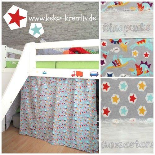 Kinderbett Hochbett Vorhang Selber Nahen Kinder Vorhange