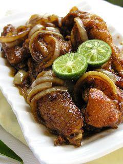 Resep Ayam Kecap Goreng Mentega Jeruk Limau Masakan Resep Ayam Resep Masakan