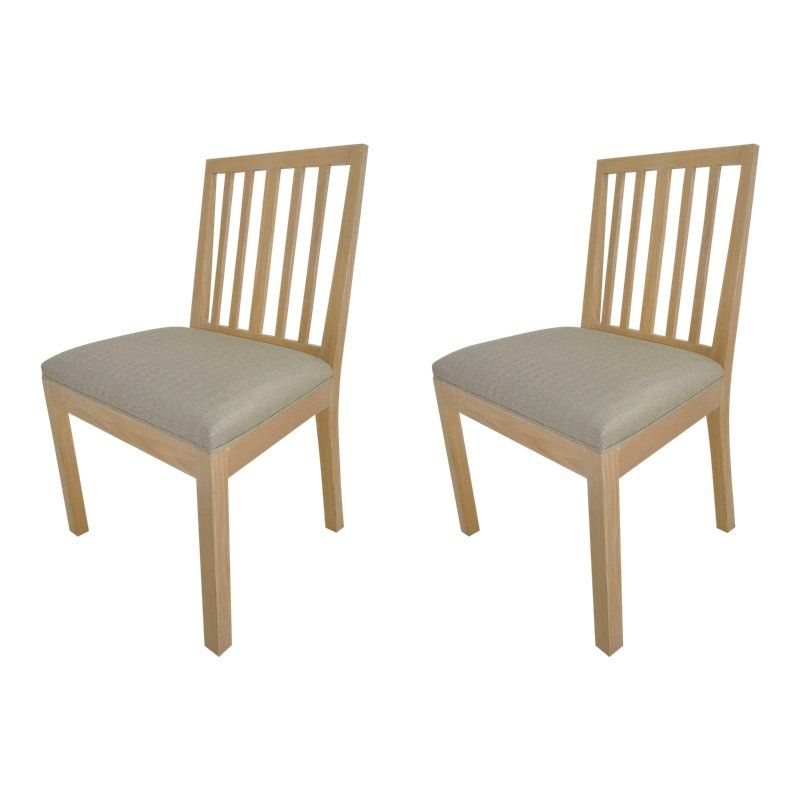 Wondrous Rose Tarlow For Melrose House Dining Chairs A Pair Gmtry Best Dining Table And Chair Ideas Images Gmtryco
