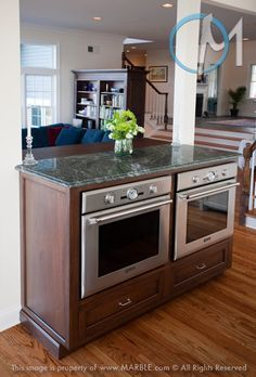 Why Can T I Put 2 Ovens Side By Side With My Glass Cooktop On Top Kitchen Design Kitchen Island Design Small Kitchen Island