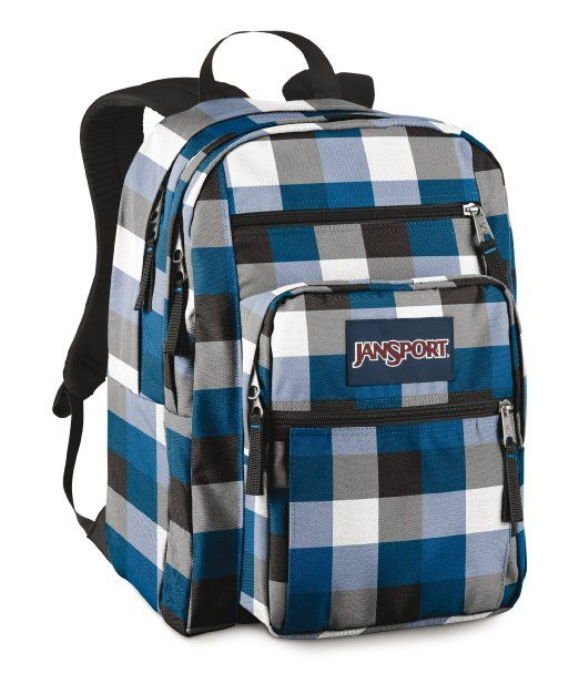 Jansport Student Backpack Navy Clothing
