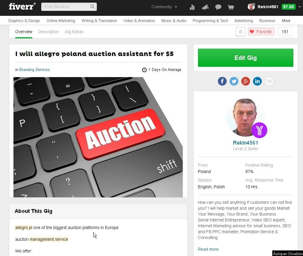 Allegro Poland Auction Assistant Allegro Poland Auction Assistant Poland Auction Allegro