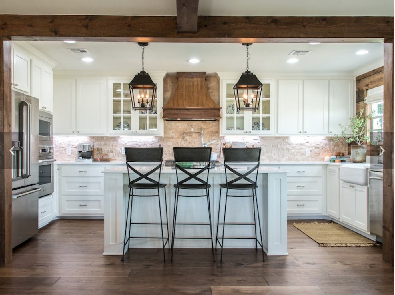 Farmhouse kitchen island lighting - Episode 04 The Big Country House