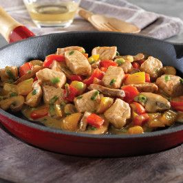 Italian Pork and Vegetable Saute...trying this with crock pot risotto