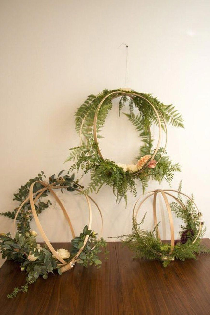 times flower hoops stole the show chwv diywedding flower