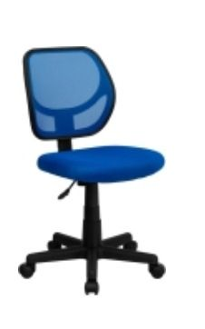 Blue Spinny Chair