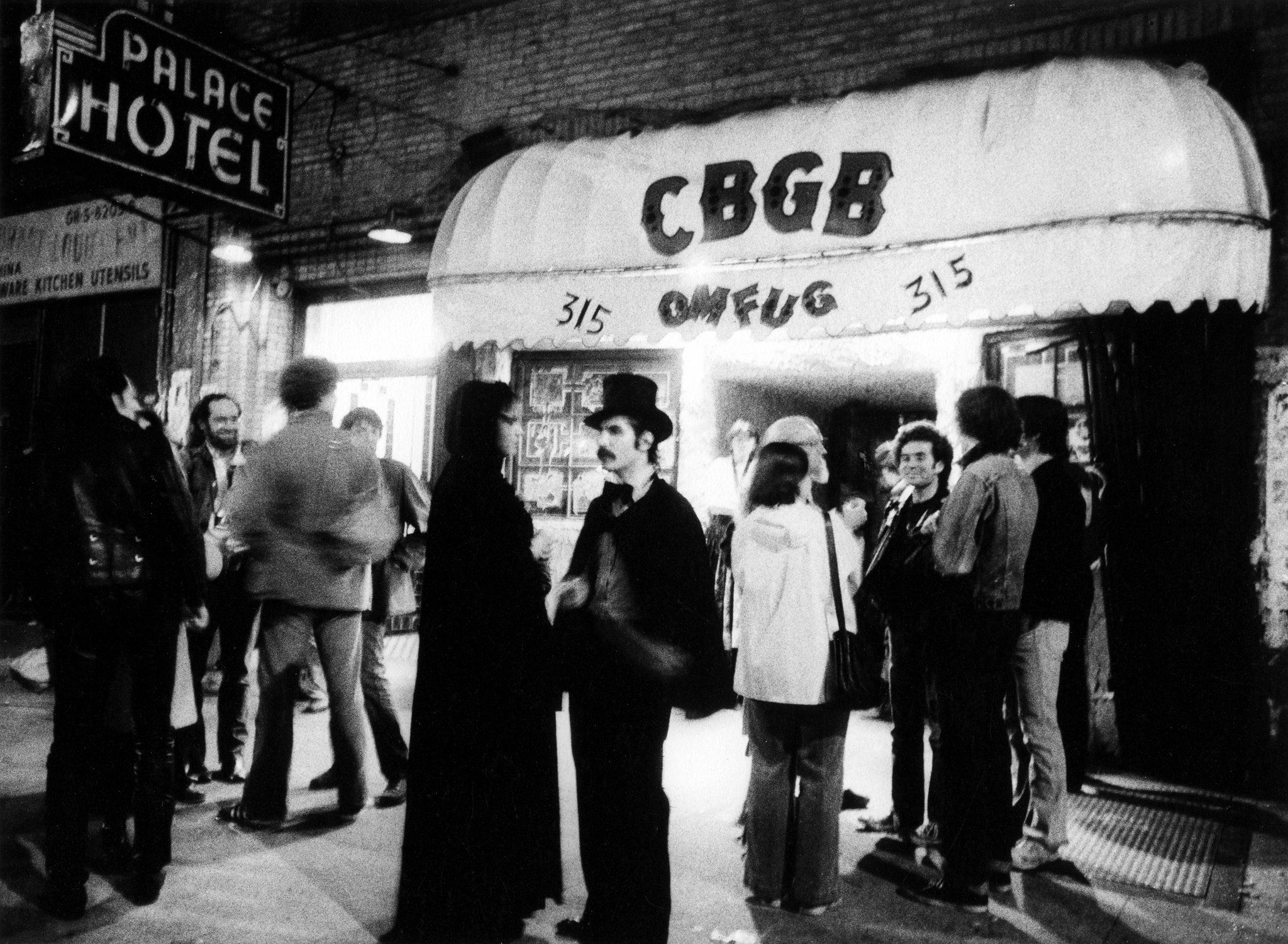 Back in the punk days when cbgb was the place to be