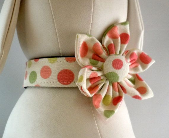Dog Collar Dog Martingale or Cat Collar by LearnedStitchworks, $14.00