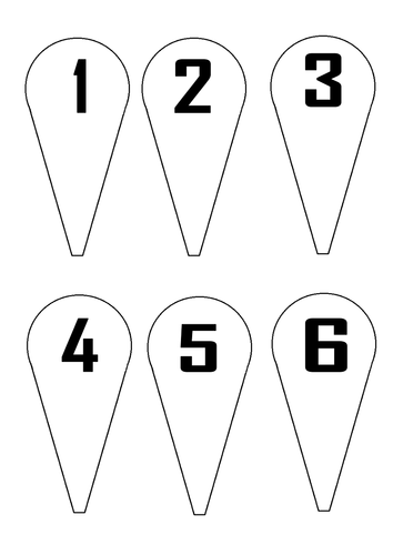 number fans primary free printables primary maths teaching resources numbers. Black Bedroom Furniture Sets. Home Design Ideas