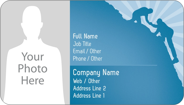 Rounded corner business cards plastic business cards