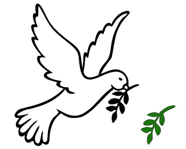 mistletoe template dove of peace applique pinterest birds