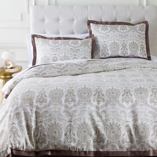 Surya Grf1002 Fq Griffin Neutral Full Queen Duvet Bellacor Bed