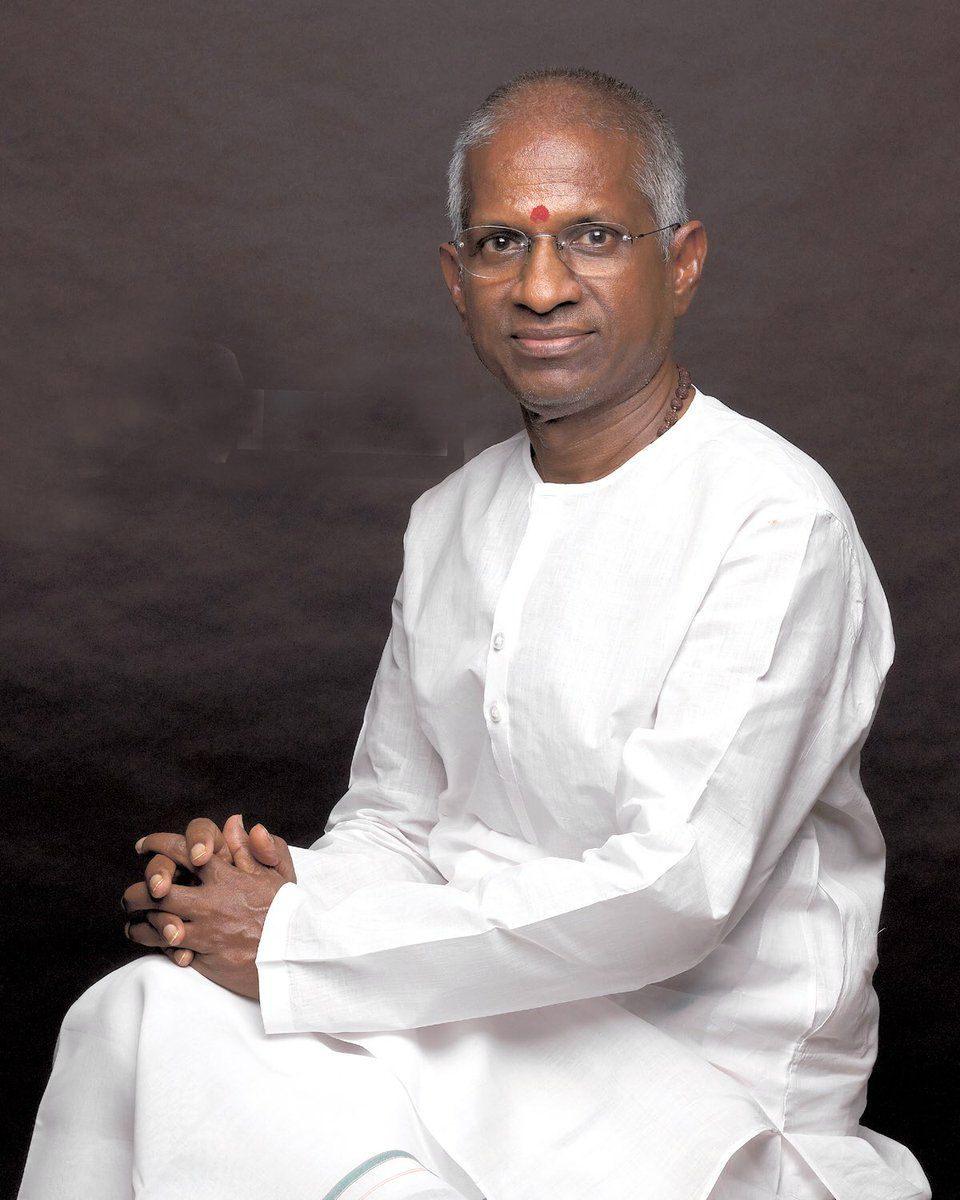 An Indian Film Composer and Singer Ilayaraja Celebrating