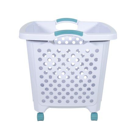 Home Rolling Laundry Basket Laundry Basket Basket