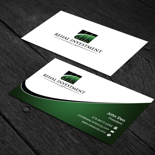 Create Professional And Modern Business Card We Offer Franchise Development Services Real Modern Business Cards Social Media Page Design Custom Business Cards