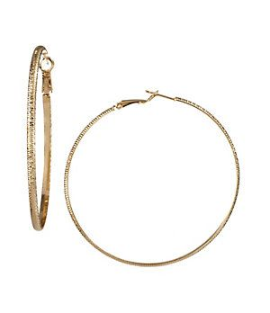 Lost my favorite pair of gold hoops. For $22.00, these could be a good replacement!
