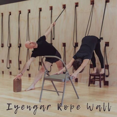 developed and redefinedbks iyengar our rope wall is