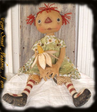 Cloth Doll Making Sewing Patterns By Maureen Mills Of Sweet Meadows Stunning Sweet Meadows Farm Patterns