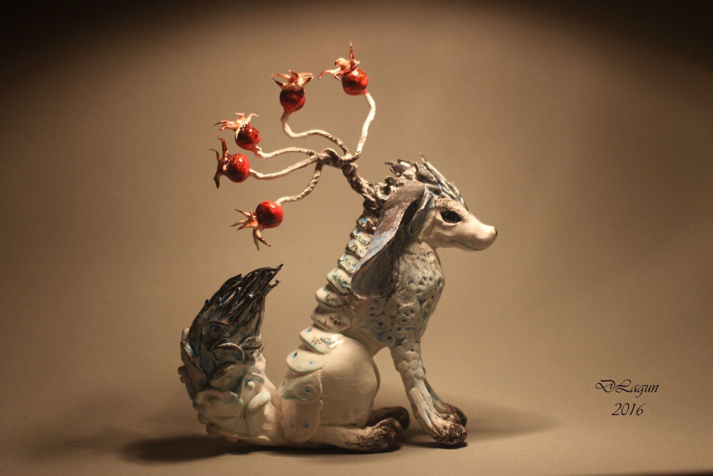 OOAK fantasy figurine creature fairy art animal  figurines by…