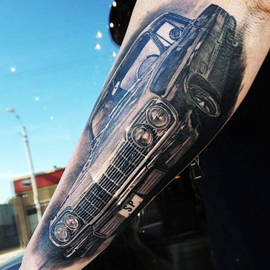 Classic Cars Tattoos Somethings Never Go Out Of Style Tattoos