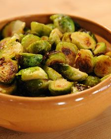 """This makes brussel sprouts worth eating. Tangy orange-butter sauce gives Brussels sprouts a wake-up call in this recipe from """"Fast, Fresh & Green,"""" by Susie Middleton.Also try: Vanilla and Cardamom-Glazed Acorn Squash Rings, Roasted Turnips and Pears with Rosemary-Honey Drizzle"""