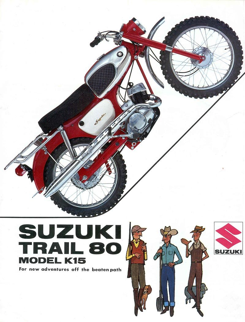 Pin By Steve Rockafellow On Motorcycles Pinterest Suzuki Trail Bikes Motorcycle Art Manufacturers Vintage Cars Classic
