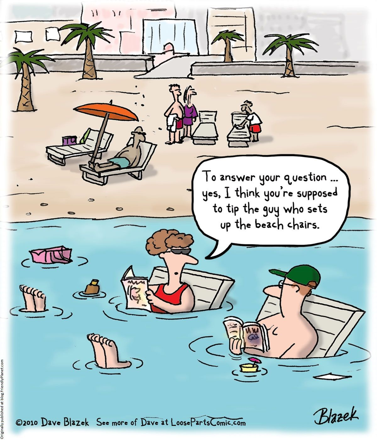 Cartoon Witzige Here Comes Summer The Good Ol Summertime Friday Humor