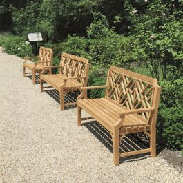 Chippendale 6 Ft Bench Outdoor Garden Bench Teak Outdoor Furniture Modern Garden Landscaping