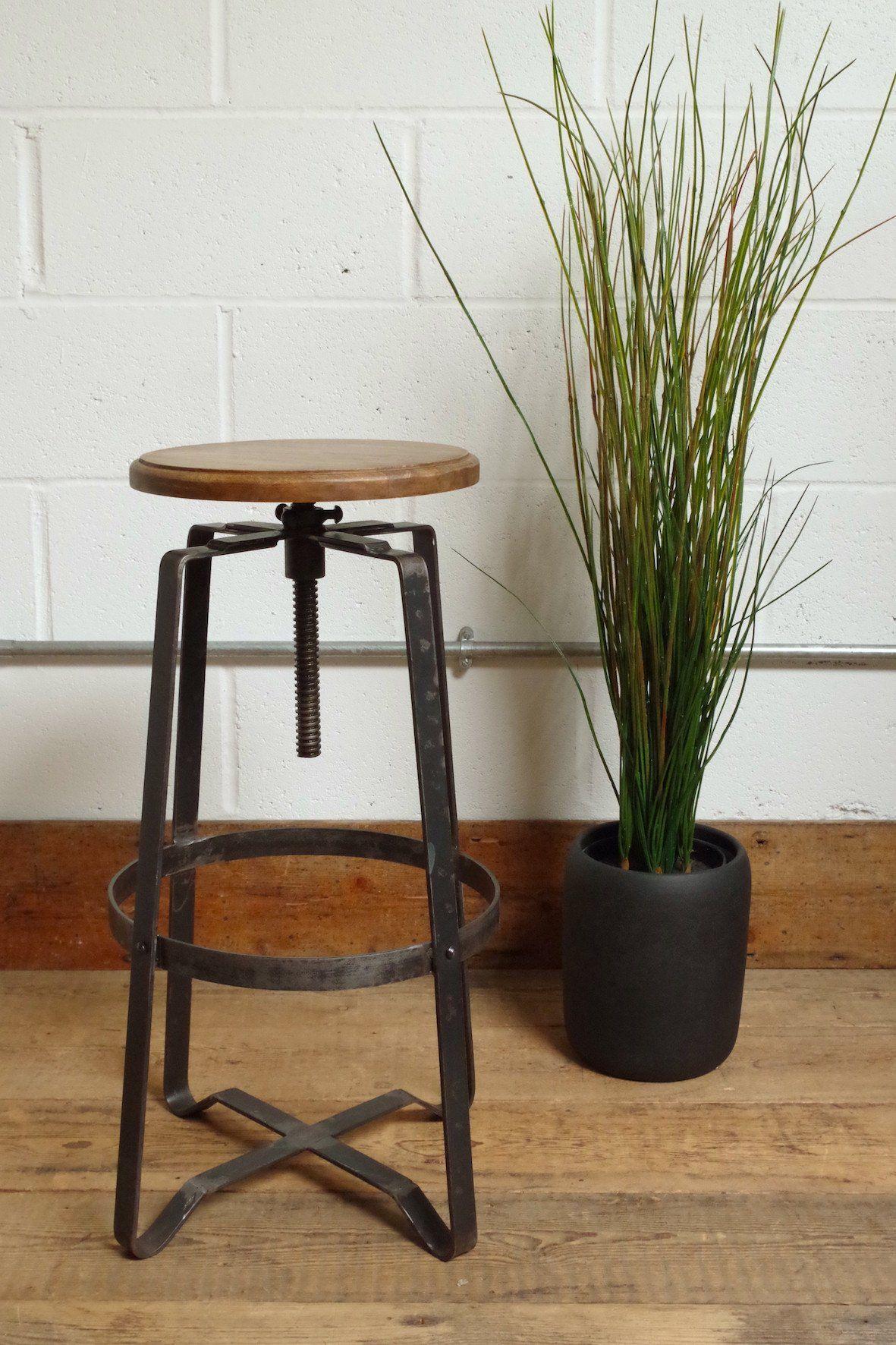 Industrial Swivel Bar Stool Industrial bar stools