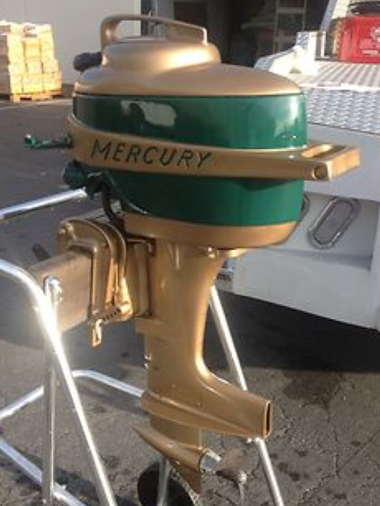 Mercury outboard classic outboard motors pinterest for Vintage mercury outboard motors