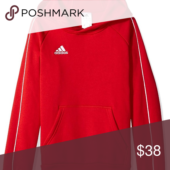 1fad7027c adidas Unisex Youth Soccer Core18 Hoody Brand new youth xs red adidas  Unisex Youth Soccer Core18