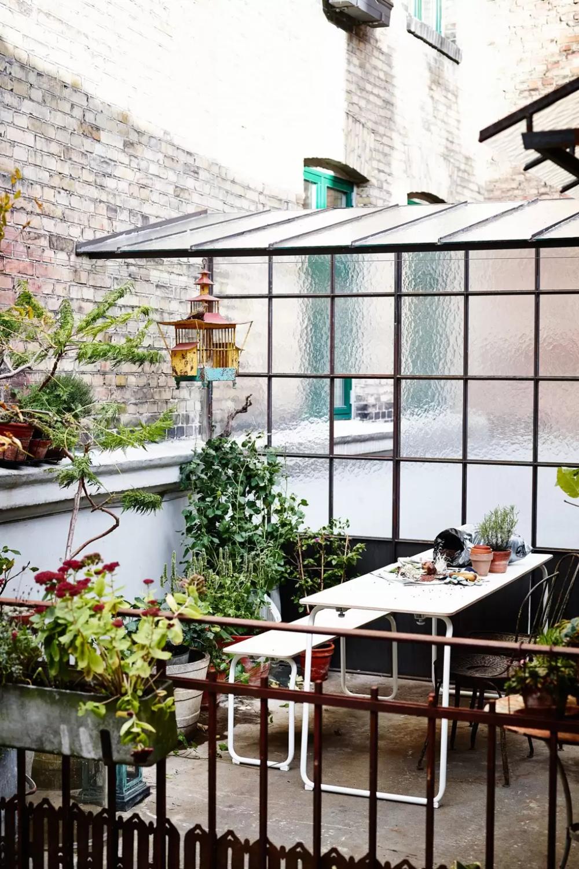 City Garden Inspiration Terrasse Sitzgruppe Balkonentwurf Und